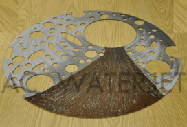 MILD STEEL 0.125 INCH ART WORK