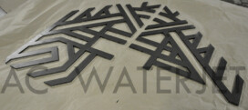 ART DESIGN-MILD STEEL -0.250 INCH -LASER CUTTING