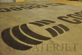 Vinyl  Floor Tile – Waterjet Cutting – 3 mm thk