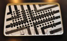 Custom Waterjet- Air vent ( Dish plate )