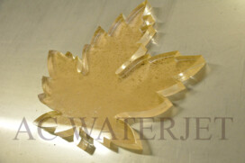Laser Cutting -1″ thk Acrylic